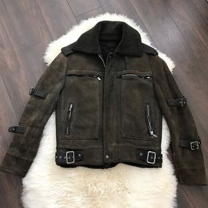 Men's Versace lambskin jacket
